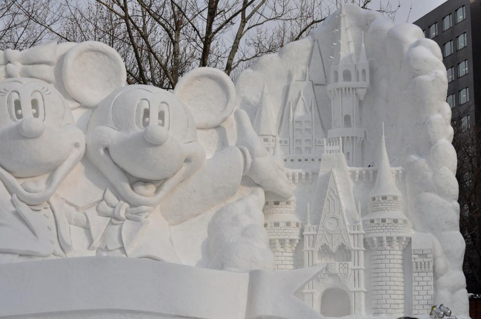 Nicolas Veracierta- Sapporo Snow Festival